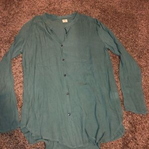 O'neill// Teal Blouse